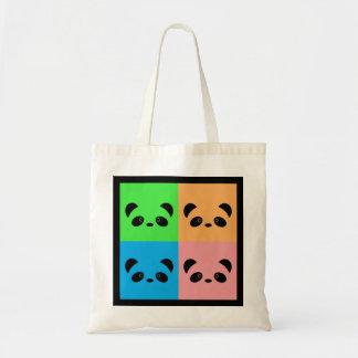 Rainbow Panda Tote Bag