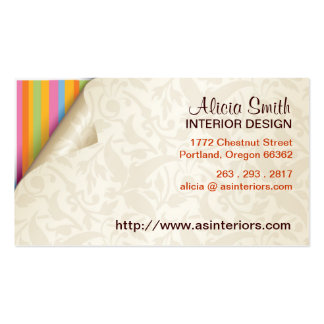Rainbow Paper Business Card