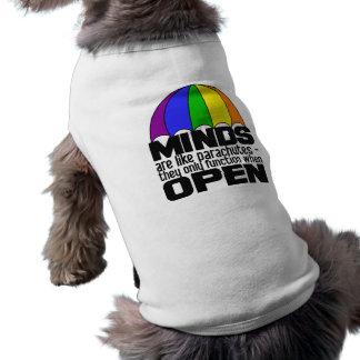 Rainbow Parachute pet clothing