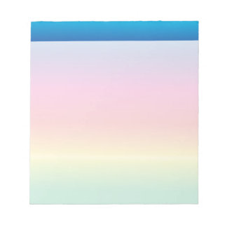 Rainbow Parade Note Pad