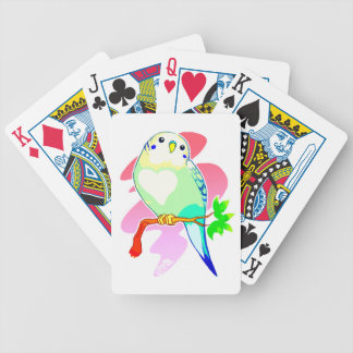 Rainbow Parakeet Bicycle Playing Cards