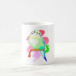 Rainbow Parakeet Coffee Mug