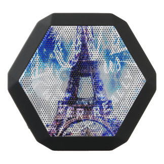 Rainbow Parisian Dreams of the Ones that Love Us Black Bluetooth Speaker