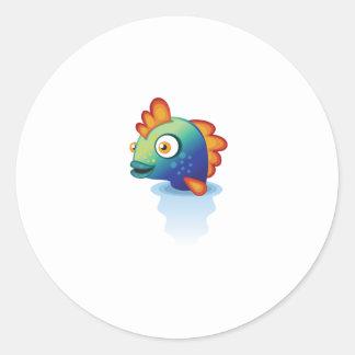 Rainbow Parrotfish - My Conservation Park Classic Round Sticker
