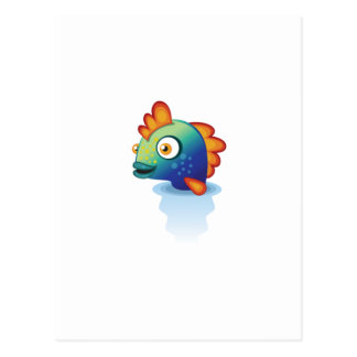 Rainbow Parrotfish - My Conservation Park Postcard