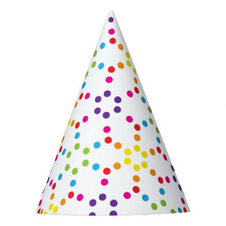 Rainbow Party Party Hat