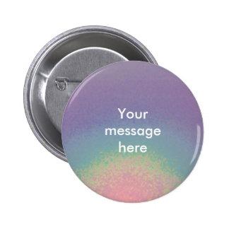 Rainbow pastels - button