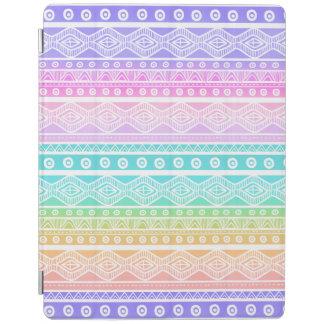 Rainbow Pastels Girly Aztec Tough iPad 2-3-4 Case