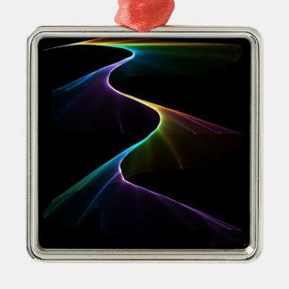 Rainbow Pathway Metal Ornament