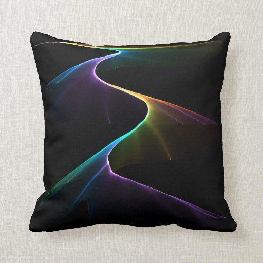 Rainbow Pathway Pillow