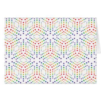 Rainbow Pattern Cards