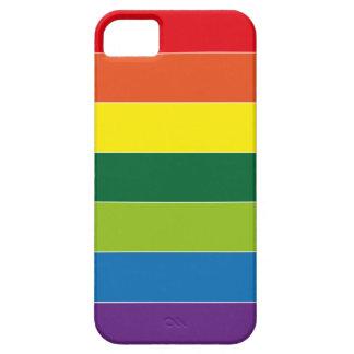 Rainbow pattern i phone 5 cover