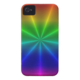 Rainbow Pattern iPhone 4 Case-Mate Case