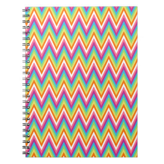 Rainbow Pattern Notebook
