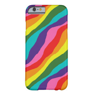Rainbow Patterns Barely There iPhone 6 Case