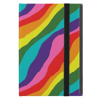 Rainbow Patterns Cover For iPad Mini