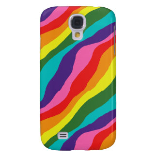 Rainbow Patterns Galaxy S4 Cover