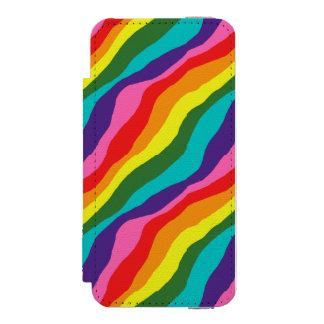 Rainbow Patterns iPhone SE/5/5s Wallet Case