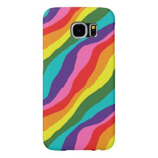 Rainbow Patterns Samsung Galaxy S6 Case