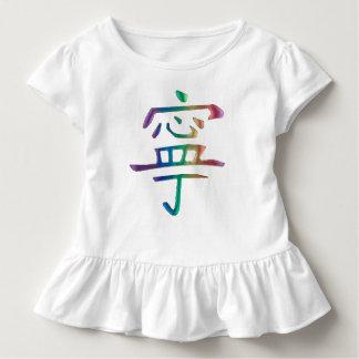 Rainbow Peace Baby Girl Dress