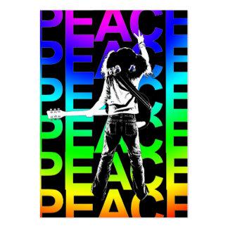 """""""Rainbow Peace"""" Chubby Card"""
