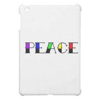 Rainbow Peace iPad Mini Cases