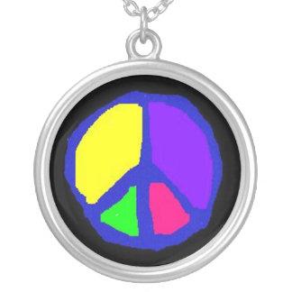 Rainbow Peace Necklace