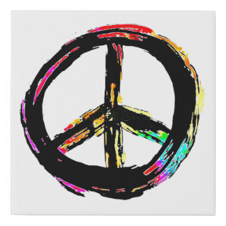 Rainbow Peace Sign