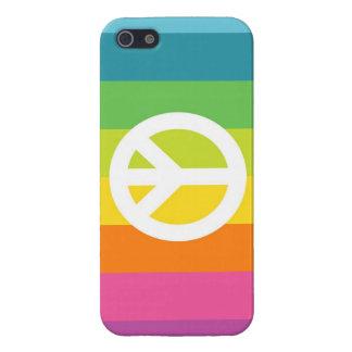 Rainbow Peace Sign iPhone SE/5/5s Case