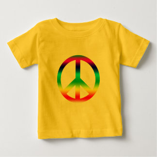 Rainbow Peace Sign Products Baby T-Shirt