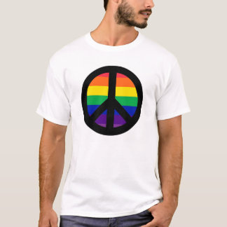 RAINBOW PEACE SIGN T-Shirt