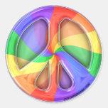 Rainbow Peace Sticker