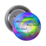 rainbow, peace, Who Dear?, Me dear?, Gay dear?,... Buttons