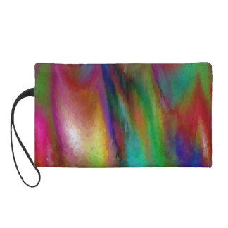 Rainbow Peaks Mini-clutch Wristlet