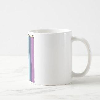 Rainbow pencils coffee mug