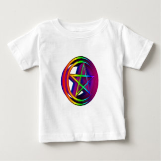 Rainbow Pentacle #5 Baby T-Shirt