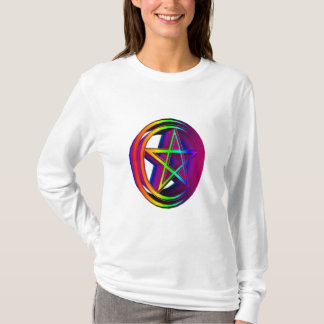 Rainbow Pentacle #5 T-Shirt