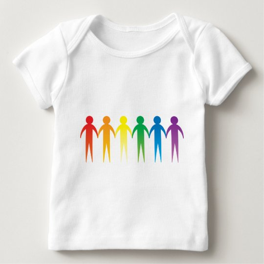 Rainbow People Baby T-Shirt