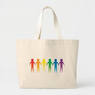 Rainbow People Bag