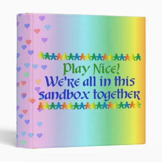 Rainbow People Binder