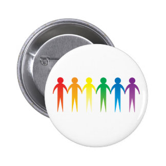 Rainbow People Buttons