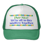 Rainbow People Hats