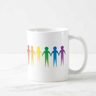 Rainbow People Mug