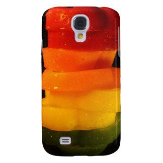 Rainbow Pepper Samsung Galaxy S4 Case