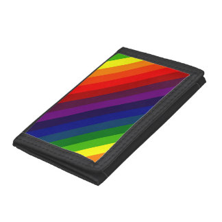 RAINBOW PERFECTION! ~ TRI-FOLD WALLET