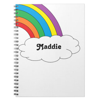 Rainbow Personalized Notebook