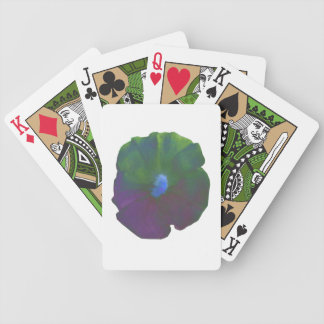Rainbow Petunia Playing Cards