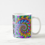 rainbow phoenix spiral mugs