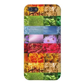 Rainbow Photo Collage iPhone SE/5/5s Case