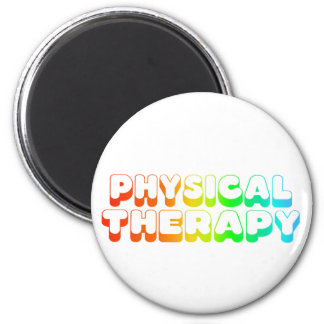 Rainbow Physical Therapy 2 Inch Round Magnet